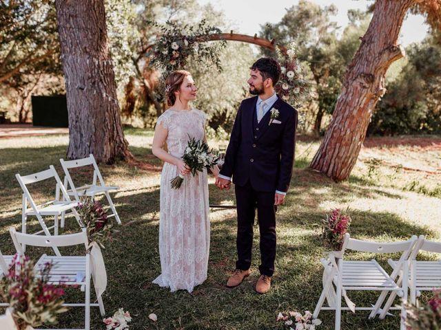 La boda de Thomas y Dovile en Estación De Cartama, Málaga 75