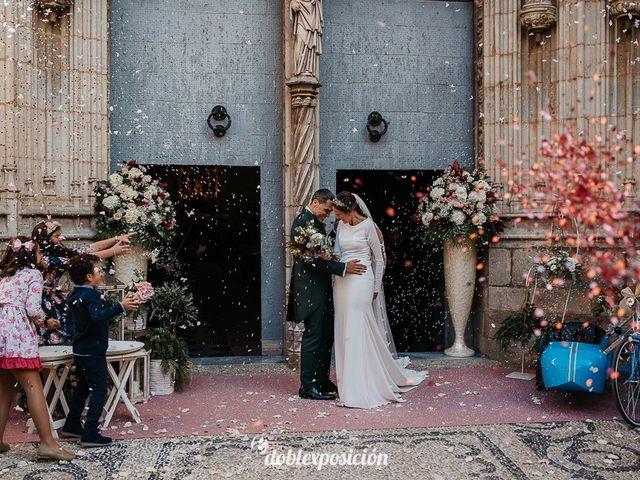 La boda de César y Elena