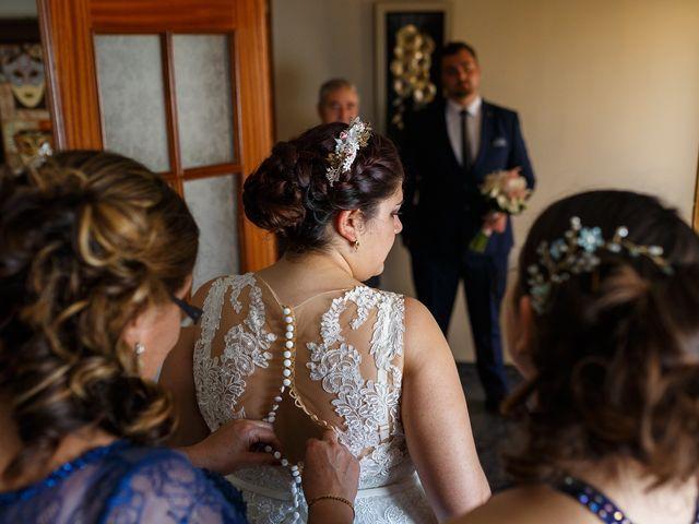 La boda de Angel y Victoria en Pajares De La Lampreana, Zamora 7