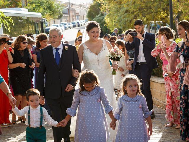 La boda de Angel y Victoria en Pajares De La Lampreana, Zamora 9