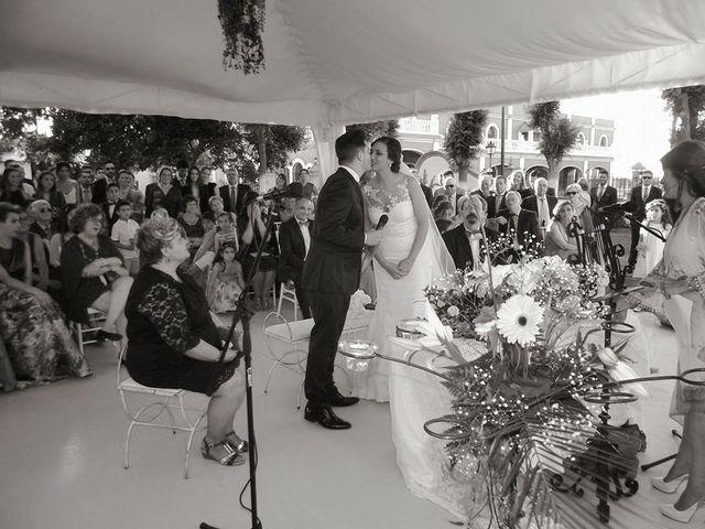La boda de Joaquín  y Angela  en Carmona, Sevilla 4
