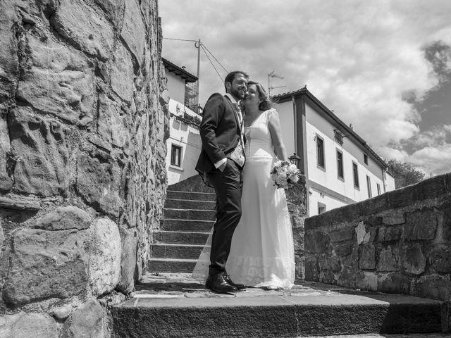 La boda de Garbiñe y Joseba