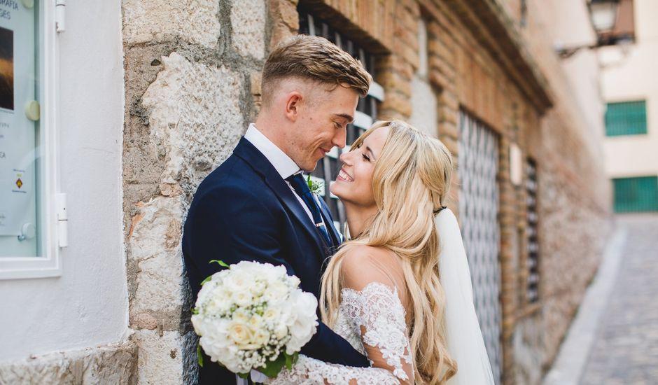 La boda de Tom y Eva en Sitges, Barcelona