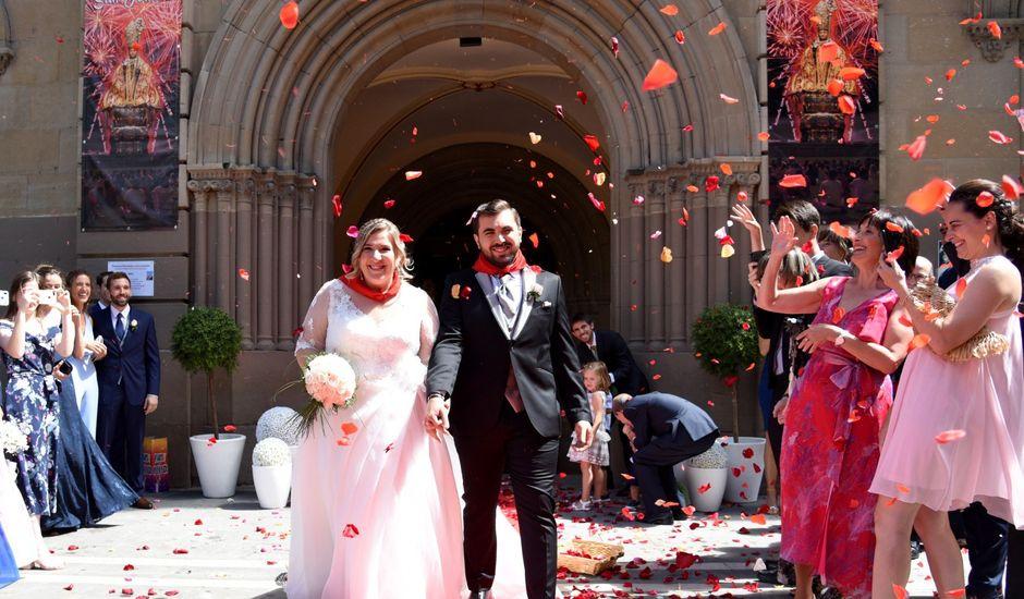 La boda de David y Edurne en Pamplona, Navarra