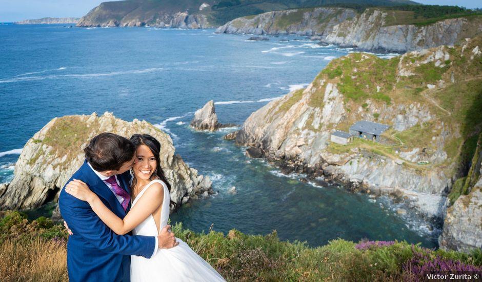 La boda de Carlos y Chistine en Lugo, Lugo