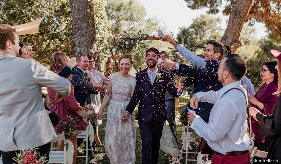 La boda de Thomas y Dovile en Estación De Cartama, Málaga