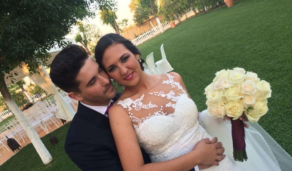 La boda de Joaquín  y Angela  en Carmona, Sevilla