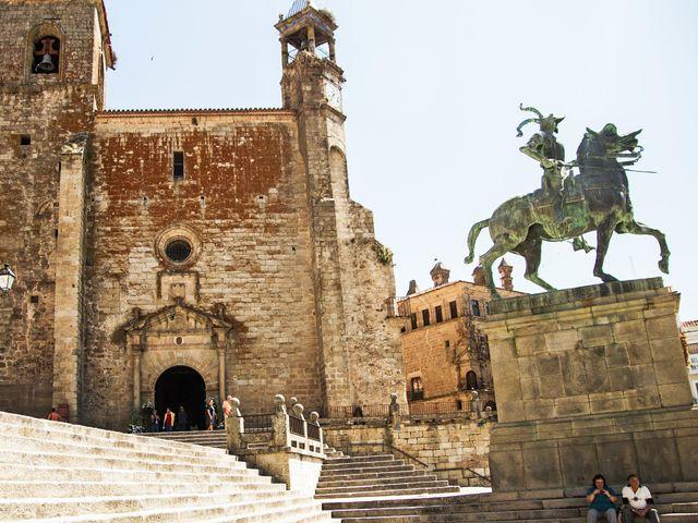 La boda de Alberto y Marina en Trujillo, Cáceres 34