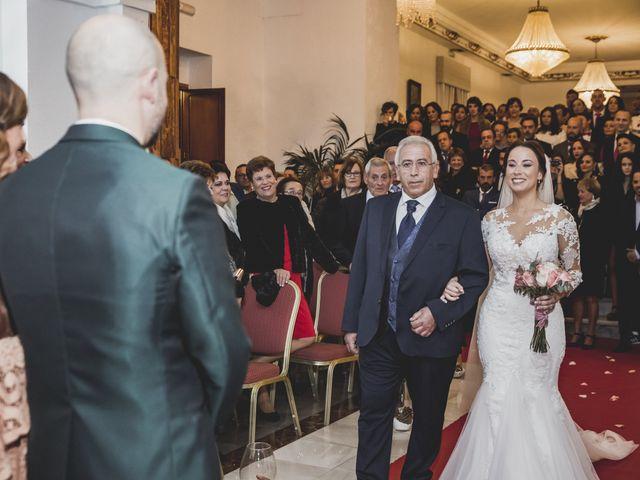 La boda de Sancho y María José en Dalias, Almería 36