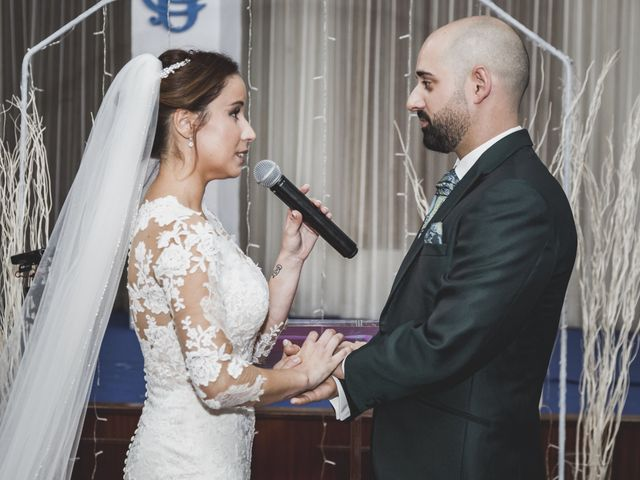 La boda de Sancho y María José en Dalias, Almería 44