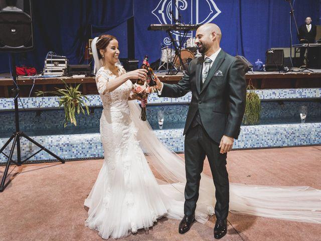 La boda de Sancho y María José en Dalias, Almería 57