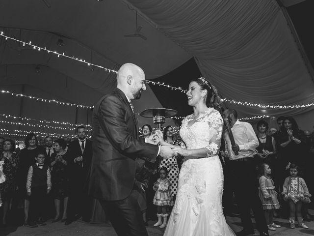 La boda de Sancho y María José en Dalias, Almería 61