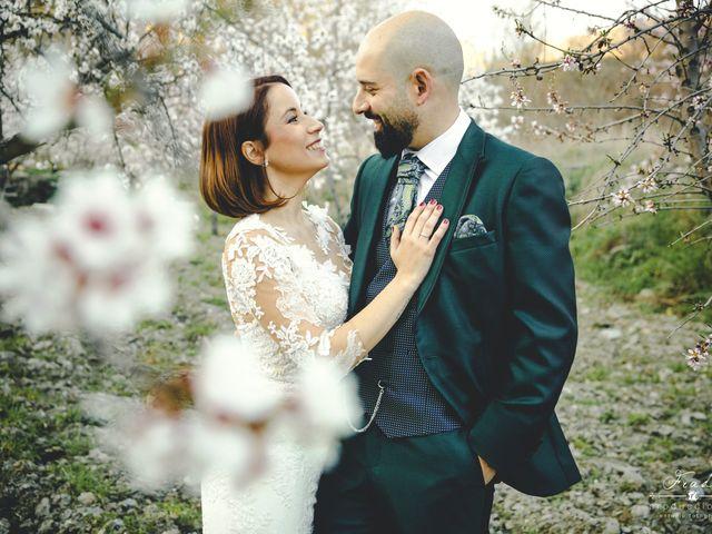 La boda de Sancho y María José en Dalias, Almería 73