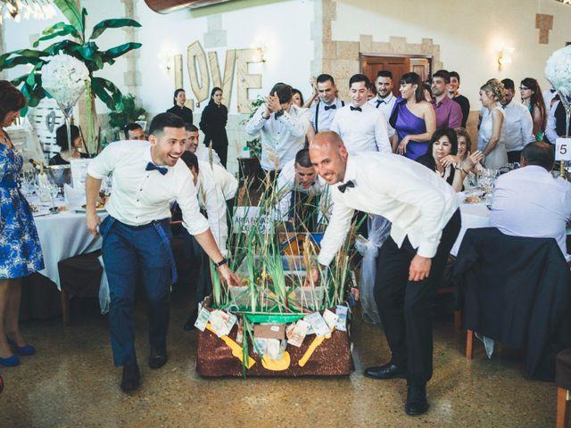 La boda de David y Roser en Deltebre, Tarragona 91