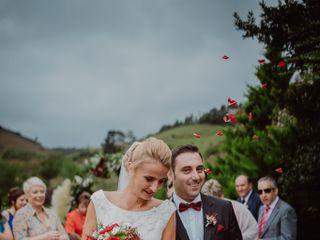 La boda de Raluca y Néstor