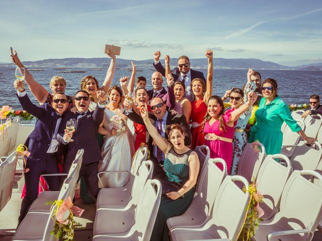 La boda de Martin y Silvia en Bueu (Resto Parroquia), Pontevedra 31