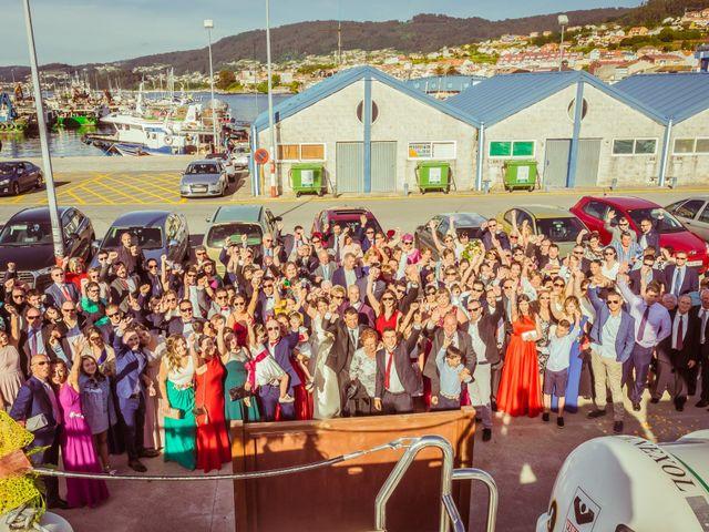 La boda de Martin y Silvia en Bueu (Resto Parroquia), Pontevedra 38
