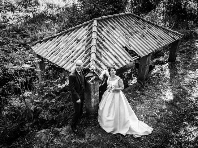 La boda de Martin y Silvia en Bueu (Resto Parroquia), Pontevedra 43