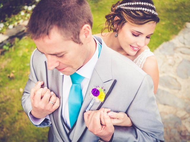 La boda de Andrea y Ruben