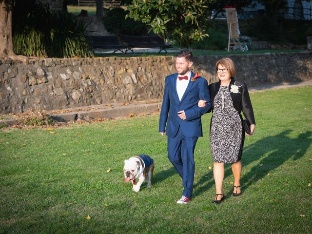 La boda de Ricard y Lidia en Sant Ferriol, Girona 14