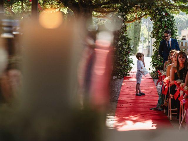 La boda de Ariadna y Juanma en Sant Fost De Campsentelles, Barcelona 15