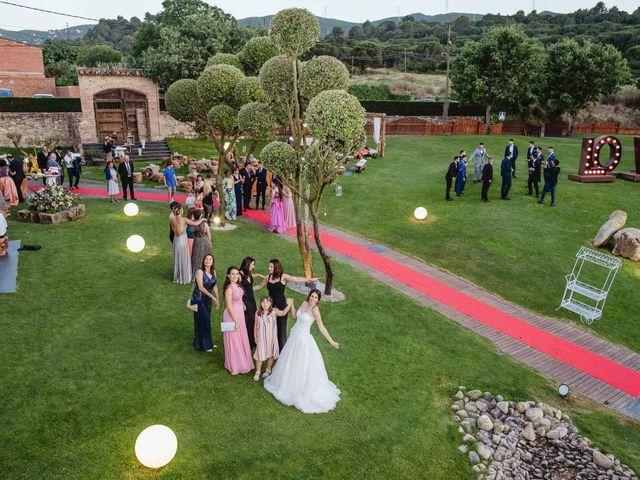 La boda de Ariadna y Juanma en Sant Fost De Campsentelles, Barcelona 33