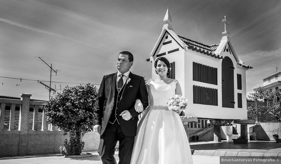 La boda de Martin y Silvia en Bueu (Resto Parroquia), Pontevedra