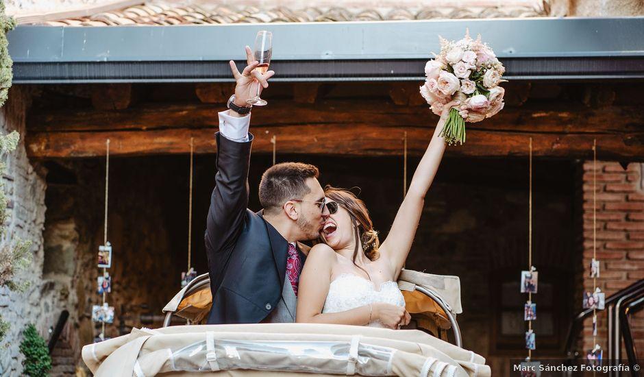 La boda de Ariadna y Juanma en Sant Fost De Campsentelles, Barcelona