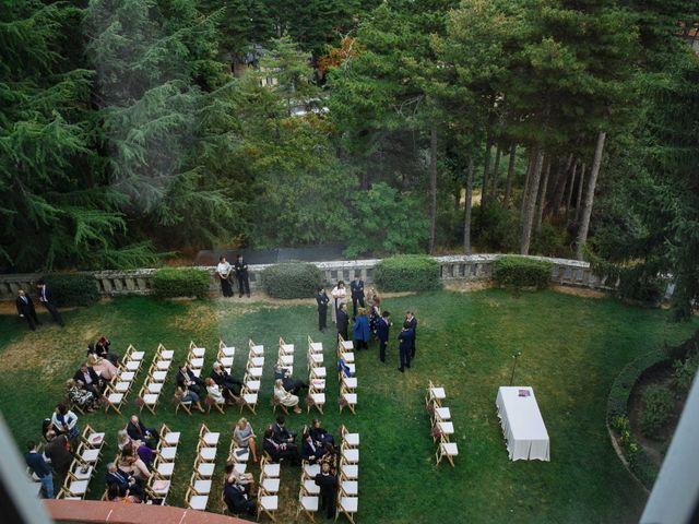 La boda de Daniel y Carolina en El Escorial, Madrid 7