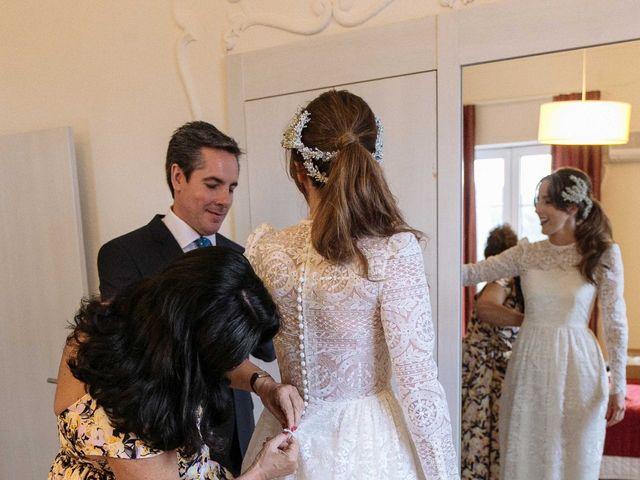 La boda de Daniel y Carolina en El Escorial, Madrid 11