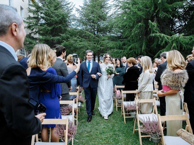 La boda de Daniel y Carolina en El Escorial, Madrid 17