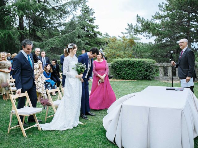 La boda de Daniel y Carolina en El Escorial, Madrid 19