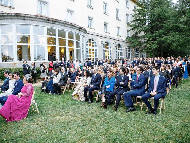 La boda de Daniel y Carolina en El Escorial, Madrid 20