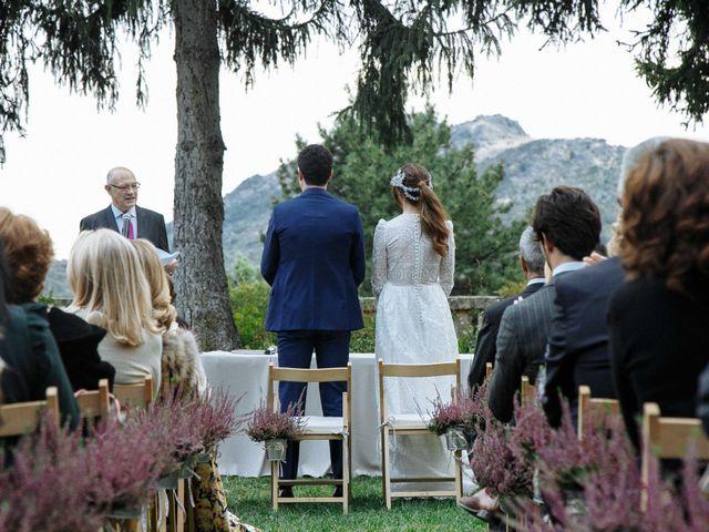 La boda de Daniel y Carolina en El Escorial, Madrid 23