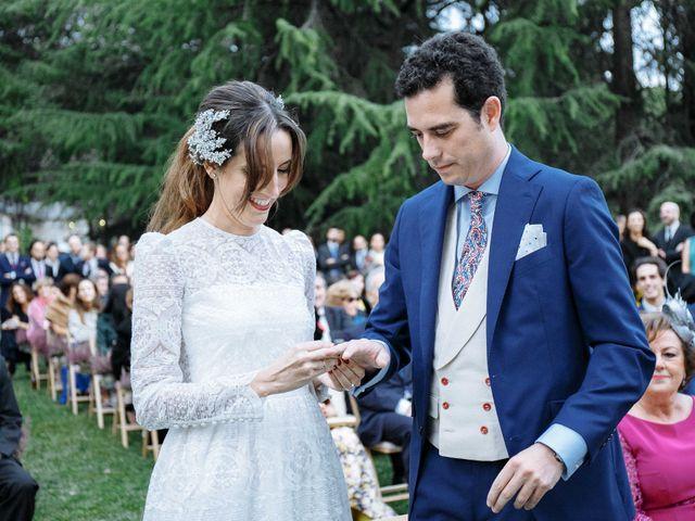 La boda de Daniel y Carolina en El Escorial, Madrid 25
