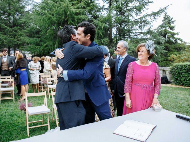 La boda de Daniel y Carolina en El Escorial, Madrid 26