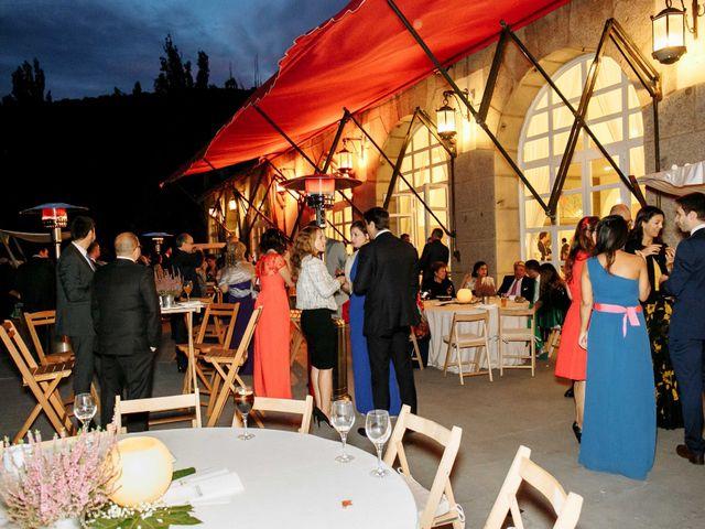 La boda de Daniel y Carolina en El Escorial, Madrid 32