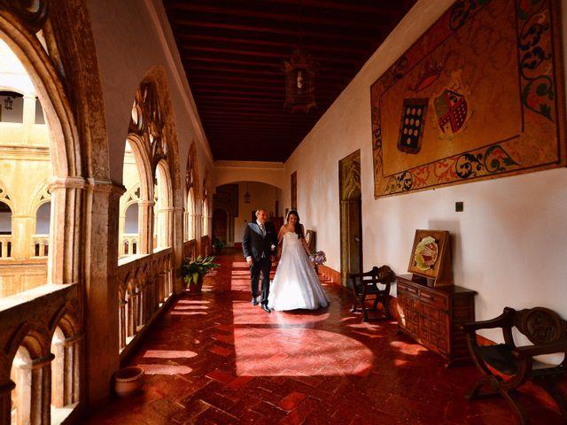 La boda de Jaime y Alicia en Guadalupe, Cáceres 15