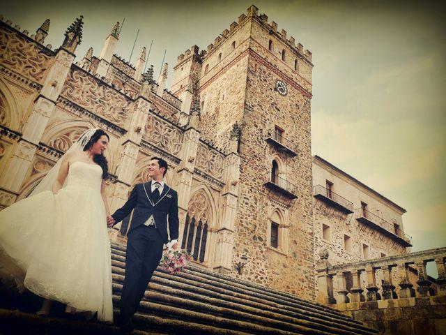 La boda de Jaime y Alicia en Guadalupe, Cáceres 23