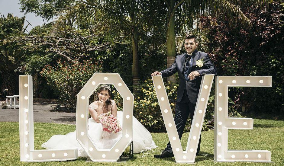 La boda de Daniel y Agustina en Los Realejos, Santa Cruz de Tenerife