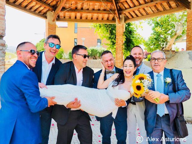 La boda de Ismael y Vanesa en Vilanova Del Valles, Barcelona 1