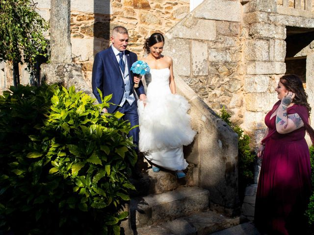 La boda de Simón y Begoña en Vedra, A Coruña 10