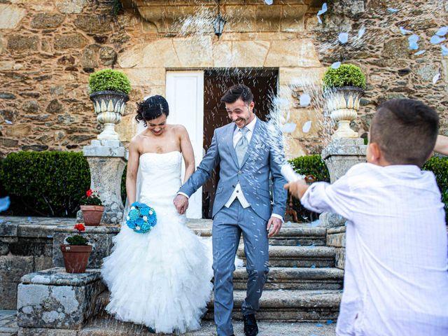 La boda de Simón y Begoña en Vedra, A Coruña 31