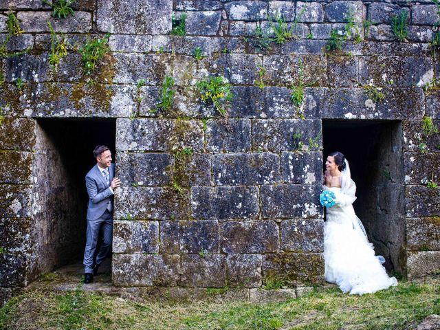 La boda de Simón y Begoña en Vedra, A Coruña 38