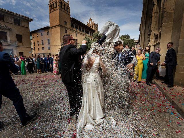 La boda de Pedro y María en Almudevar, Huesca 14