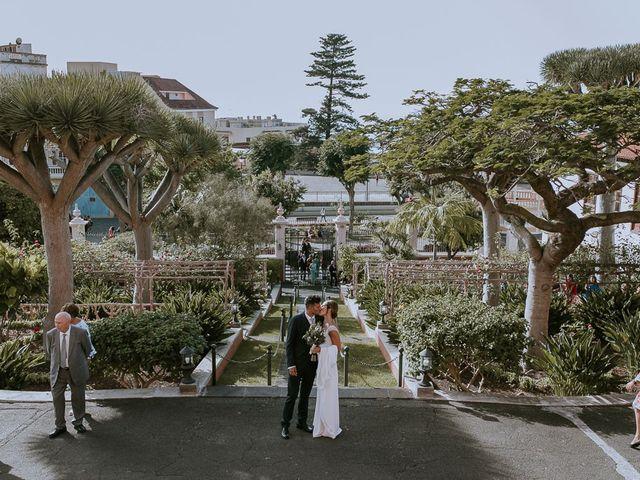 La boda de Jose y Ángeles en La Orotava, Santa Cruz de Tenerife 28