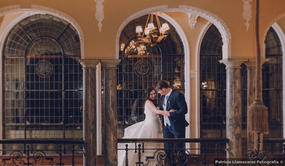 La boda de Marc y Laura en Las Arenas, Vizcaya