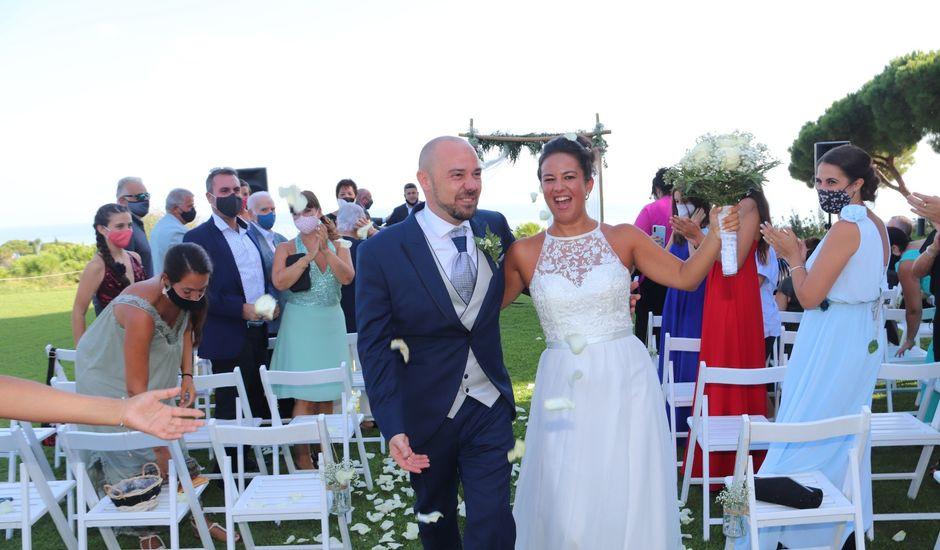 La boda de Cristina y Angel  en Sant Vicenç De Montalt, Barcelona