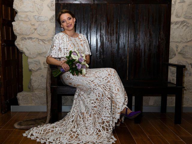 La boda de Alvaro y Africa en Valoria La Buena, Valladolid 18