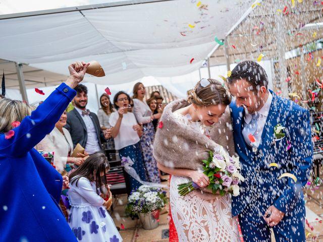 La boda de Alvaro y Africa en Valoria La Buena, Valladolid 22